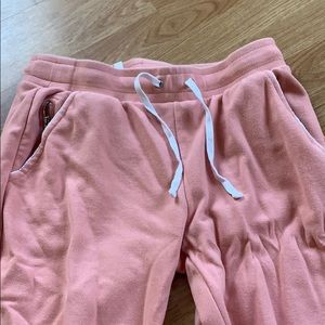 Pink Womans Fabletics joggers